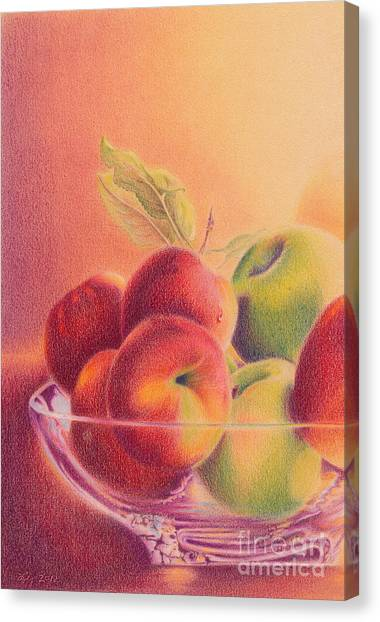 A Trip To The Orchard Canvas Print