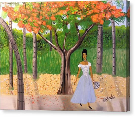 A Une Dame Creole Canvas Print