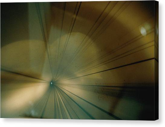 Bullet Trains Canvas Print - A View Inside A Tunnel From The Front by Paul Chesley