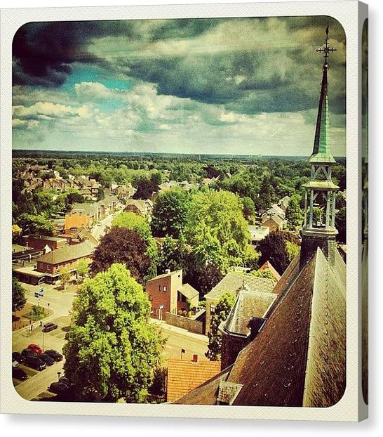 Dutch Canvas Print - A View Over Our Great Town #venray by Wilbert Claessens