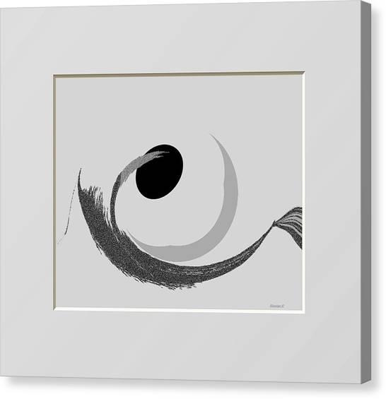 Ab-bb-b Canvas Print by Ines Garay-Colomba