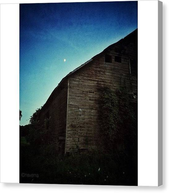 Barns Canvas Print - Abandoned Barn by Natasha Marco