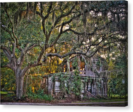 Abandoned But Not Forgotten Canvas Print