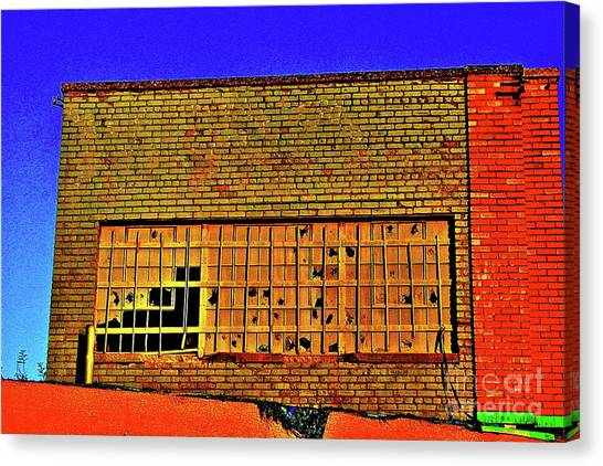 Abandoned  Canvas Print by Gregory Dragan