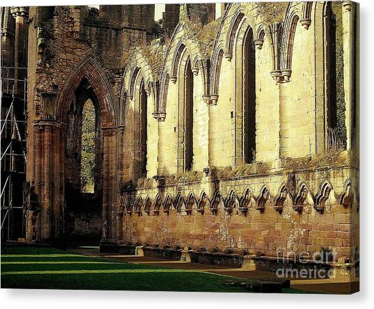 Abbey Ruins Canvas Print