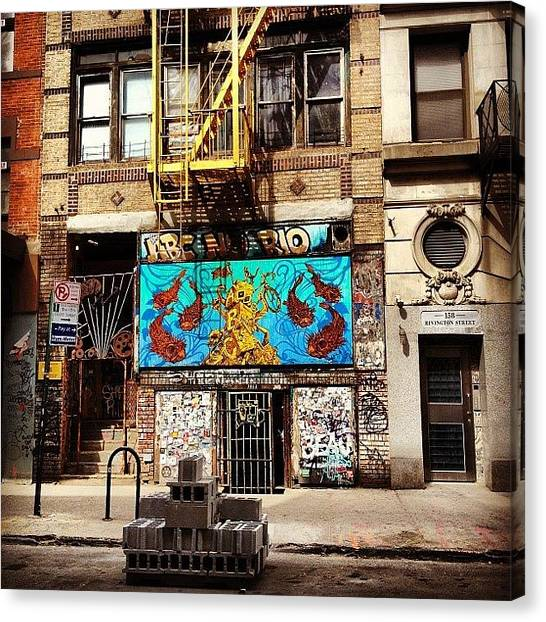 Times Square Canvas Print - Abc No Rio - Lower East Side - New York City by Vivienne Gucwa