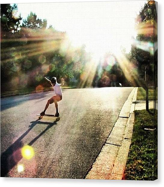 Swedish Canvas Print - Absolutely Amazing Picture By by Sweden Longboards