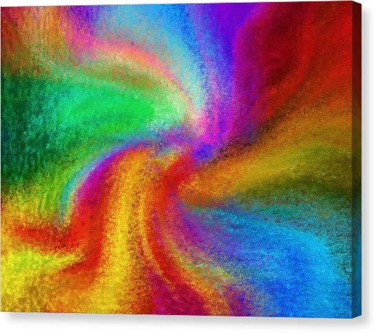 Abstract - Amorphous  Canvas Print by Steve Ohlsen