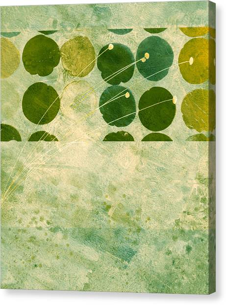 Abstract 207 Canvas Print by Ann Powell