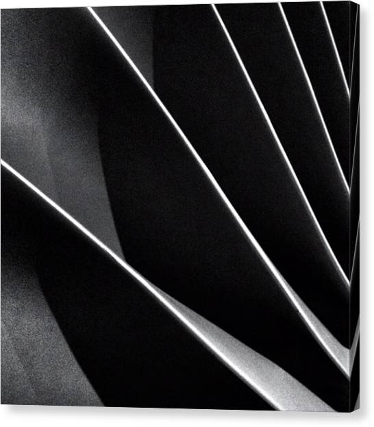 Abstract Canvas Print - #abstract #bw #bnw by Ritchie Garrod