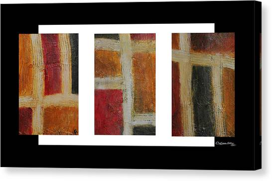 Abstract Collage 1 Canvas Print by Xoanxo Cespon