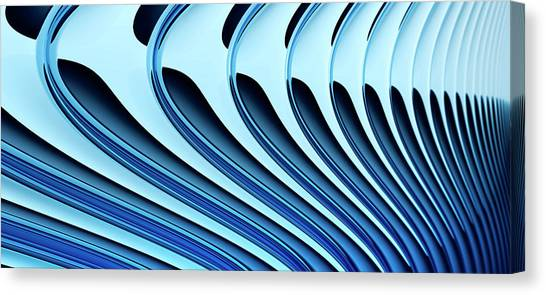 Curved Lines In Art : Abstract curved lines diminishing perspective digital art by ralf