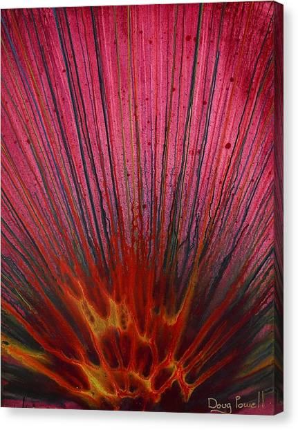Abstract Flash 1.2 Canvas Print