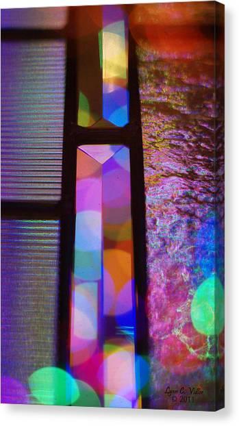 Abstract Geometry Canvas Print by Lynn Vidler