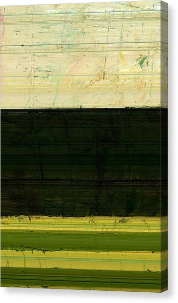Abstract Landscape - The Highway Series Ll Canvas Print