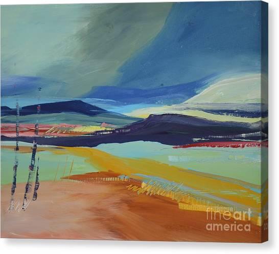 Abstract Landscape No.1 Canvas Print