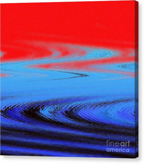 David Beckham Canvas Print - Abstract Nixo by Nicholas Nixo
