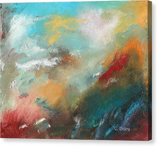 Abstract No 1 Canvas Print