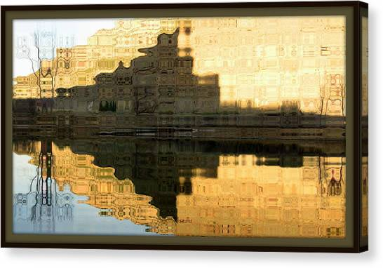 Abstract Reflections Canvas Print