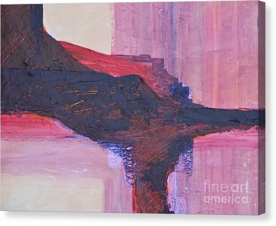 Abstract Ruins Canvas Print