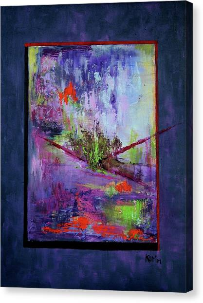 Abstract With Center Canvas Print