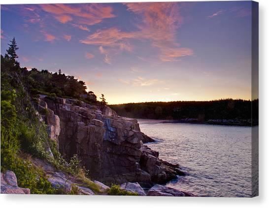 Acadian Sunrise Canvas Print by Jim Neumann
