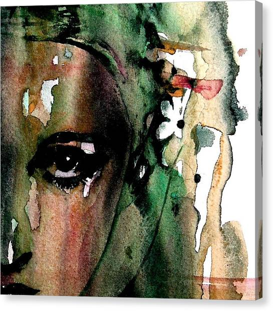 Lady Canvas Print - Accept Me For What I Am  by Paul Lovering