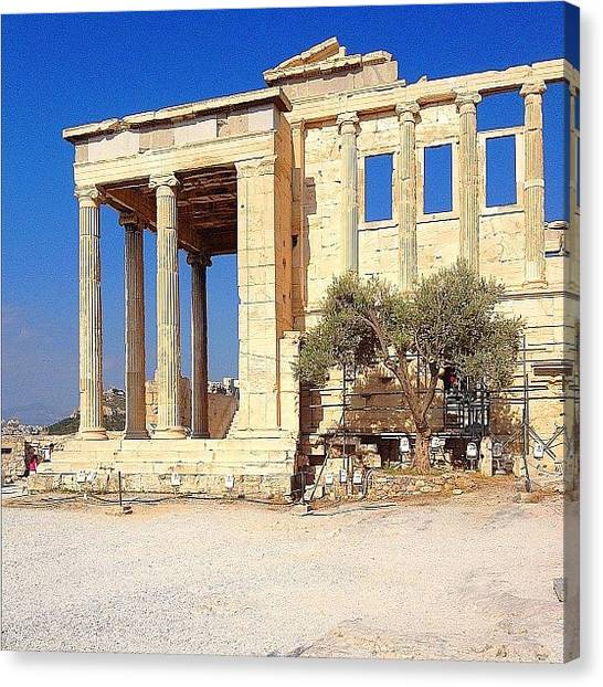 The Acropolis Canvas Print - Acropolis, Greece #acropolis #greece by Dimitre Mihaylov