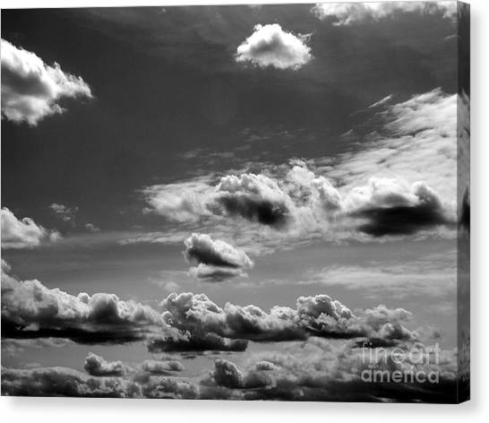 Across Sky Canvas Print