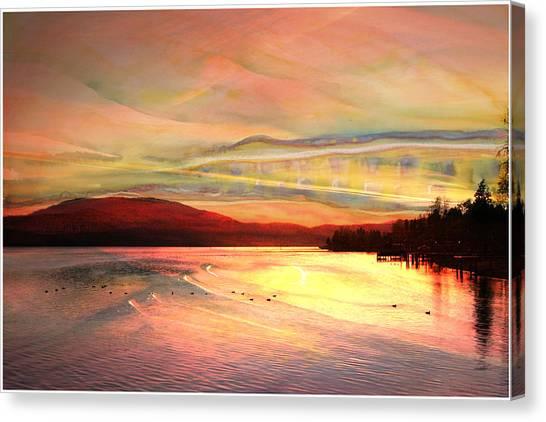 Acrylic Sky Canvas Print