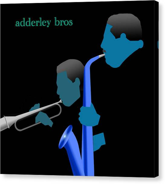 Adderley Brothers Canvas Print by Victor Bailey
