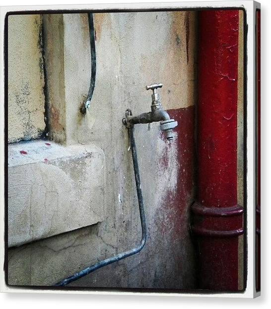 Still Life Canvas Print - Adelaide Tap by Mojo Photo