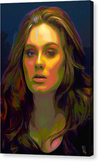 Adele Canvas Print - Adele by  Fli Art