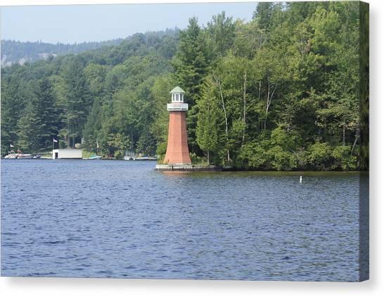 Adirondack Lighthouse Canvas Print