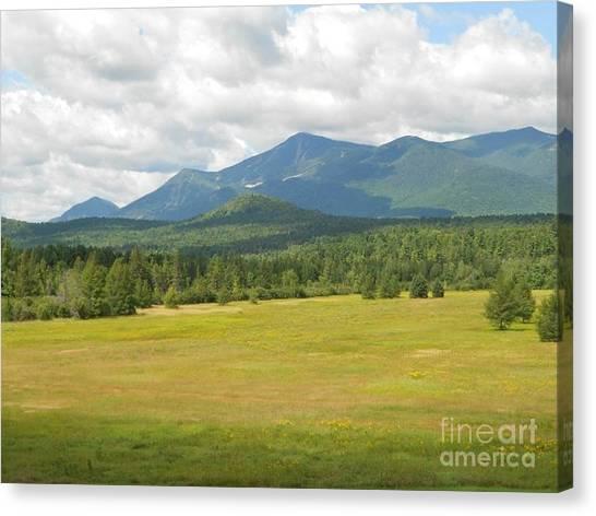 Adirondack Mountains Canvas Print
