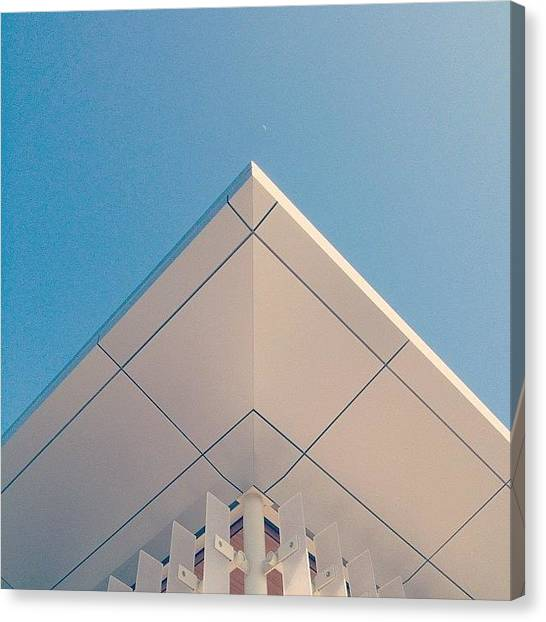 Art Deco Canvas Print - Admin Building 2 // #architecture by Kevin Mao