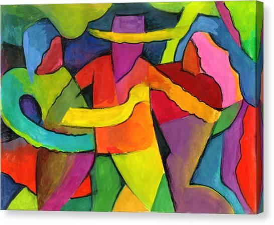Adoracion Canvas Print by John Crespo Estrella