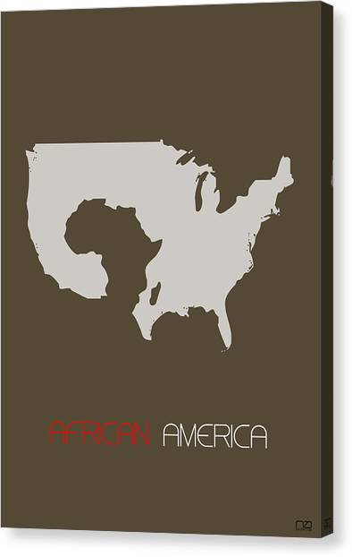 Citizen Canvas Print - African America Poster by Naxart Studio