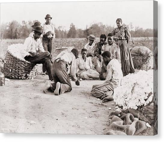 African Americans Enjoying Some Rest Canvas Print by Everett