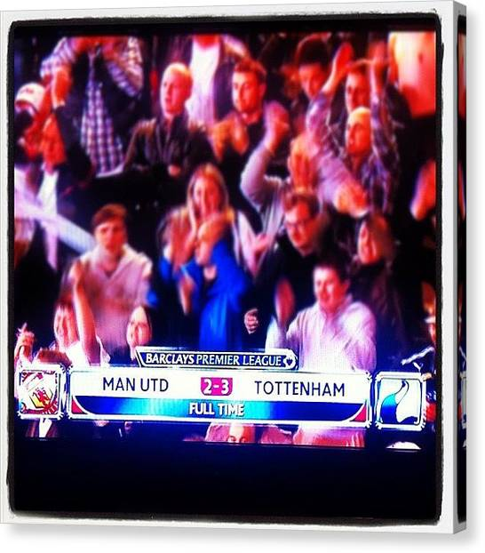 Spurs Canvas Print - After 23 Years, #spurs Finally Beat by Basha Pillay