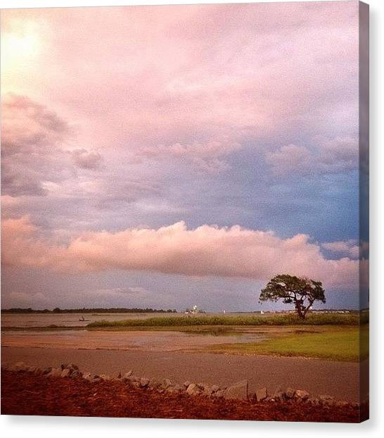 Georgia Canvas Print - After Storm Sky #2 by Escapist's Alley