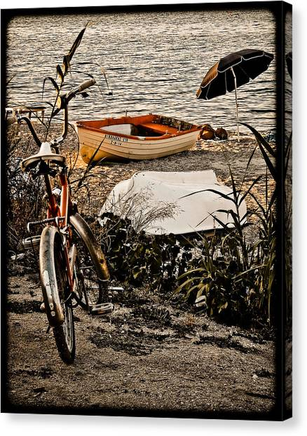 Hanioti, Greece - Afternoon At The Beach Canvas Print