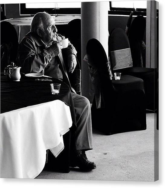 Old Age Canvas Print - Afternoon Tea by Jason Feather