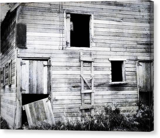 Aging Barn  Canvas Print