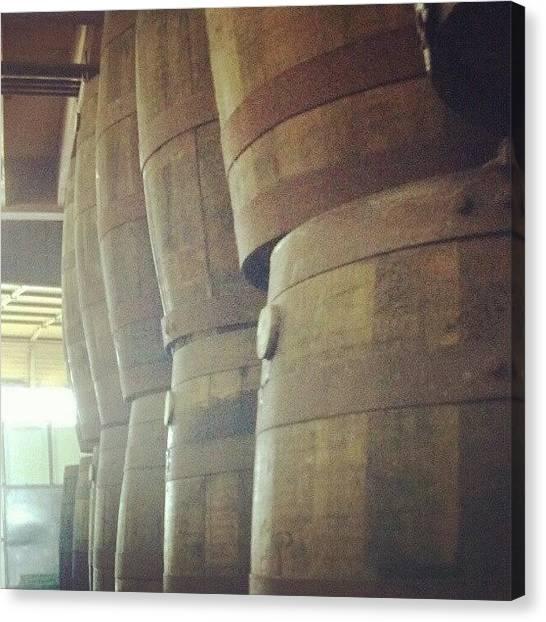Rum Canvas Print - Aging Rum. #aging #rum #nola by Dustin Klinedinst