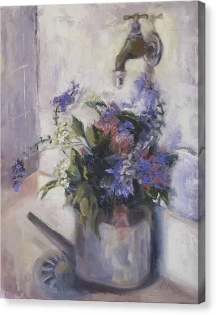 Agnes Floral Canvas Print