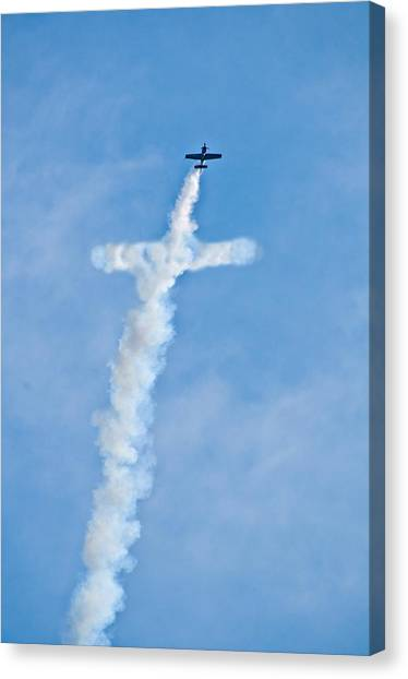 Air Cross Canvas Print