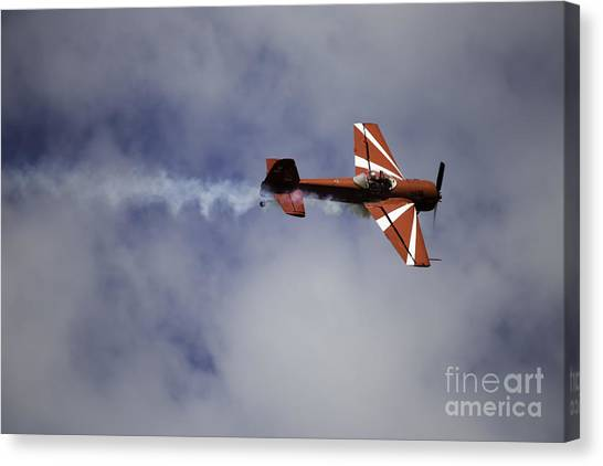 Air Show 10 Canvas Print by Darcy Evans