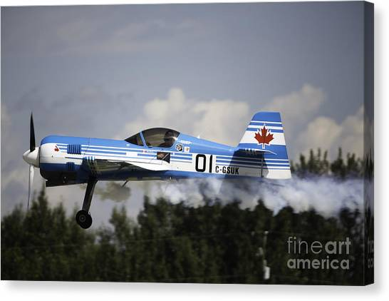 Air Show 14 Canvas Print by Darcy Evans