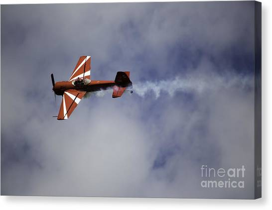 Air Show 3 Canvas Print by Darcy Evans